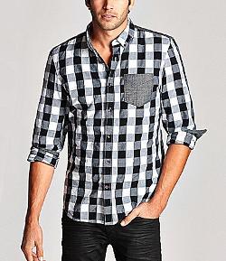 Guess  - Long-Sleeve Gabriel Shirt