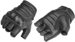 River Road  - Twin Iron Shorty Leather Gloves