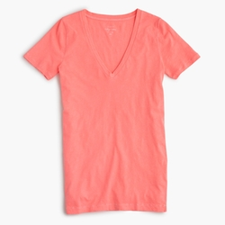 J.Crew - Vintage Cotton V-Neck T-Shirt