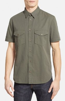 7 For All Mankind - Short Sleeve Sport Shirt