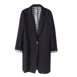 Niponjjuya - Classic Plain Overcoat