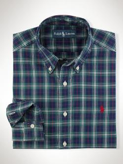 Polo Ralph Lauren  - Classic-Fit Plaid Oxford