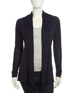 Neiman Marcus  - Knotted Back Raglan Cardigan
