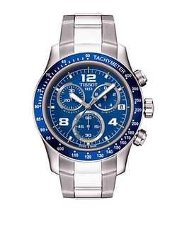 Tissot  - V8 Blue Quartz Chronograph Sport Watch