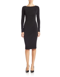 Anne Klein - Ruched Sheath Dress