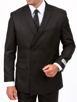 THE SUIT RACK - Slim Fit Double Breasted Suit