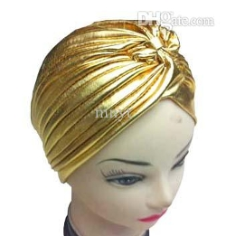 Mnyt - Metallic Turban Hat