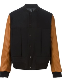 Tim Coppens - Contrast Sleeve Bomber Jacket