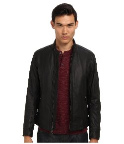 Vince - Lightweight Leather Moto Jacket