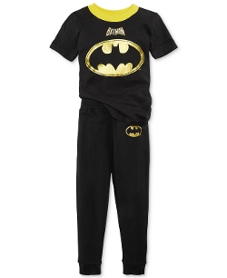 DC Comics - Two Piece Vintage Superhero Pajamas