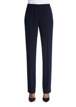 Lafayette 148 New York - Barrow Straight-Leg Crepe Pants
