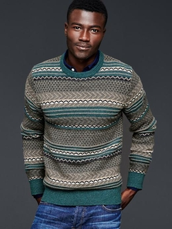 Gap - Fair Isle Crew Sweater