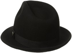 Dorfman Pacific - Wool Felt Snap Brim Hat