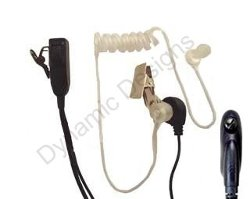 Acoustic - FBI Style Headset for Motorola Radio Series