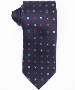 Ermenegildo Zegna - Square Patterned Silk Tie
