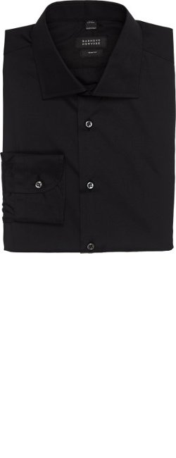 Barneys New York - Trim-Fit Dress Shirt