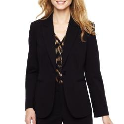 LIZ CLAIBORNE - 1-Button Jacket