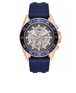 Michael Kors  - Automatic JetMaster Silicone Strap Watch