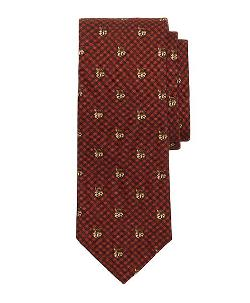 Brooks Brothers - Fox Print Tie