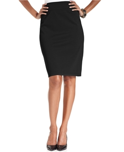 Style & Co.  - Pull-On Ponte-Knit Pencil Skirt