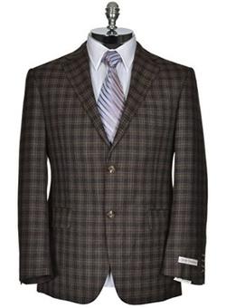 Hickey Freeman  - Milburn Worsted Wool Sportcoat