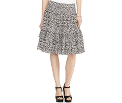 Lauren Ralph Lauren  - Printed Tiered Skirt