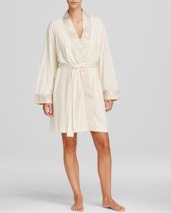 Lauren Ralph Lauren - Satins Kimono Wrap Robe