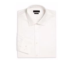 Saks Fifth Avenue Collection  - Diamond Printed Dress Shirt
