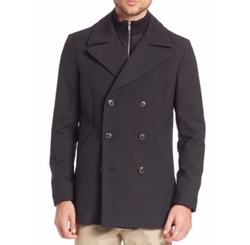 Theory - Double-Breasted Peacoat