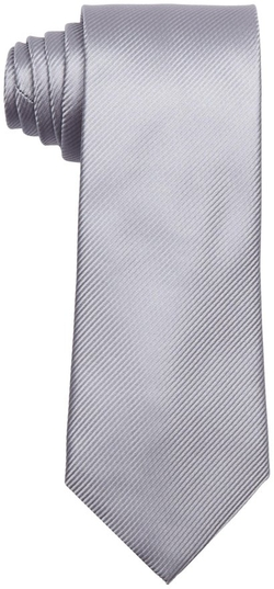 Geoffrey Beene  - Solid Dimension Stripe Tie