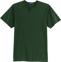 Sport-Tek - Short Sleeve Henley Shirt