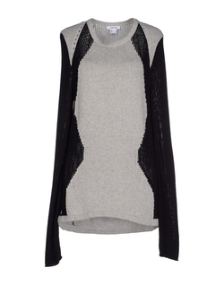 Helmut Lang - Two-Tone Knit Sweater