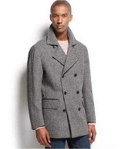 INC International Concepts  - Levine Double-Breasted Coat