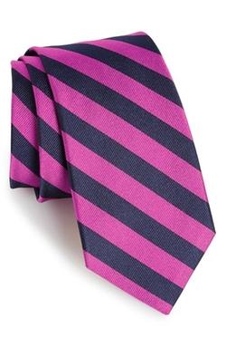 Gitman - Stripe Silk Tie