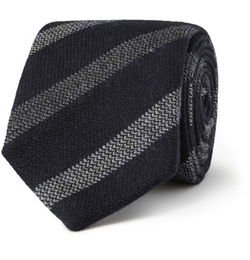 Gieves & Hawkes   - Striped Wool Tie