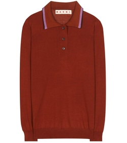 Marni - Knitted Polo Shirt