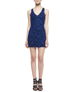 Parker - Haiti Open-Back Sequined Dress