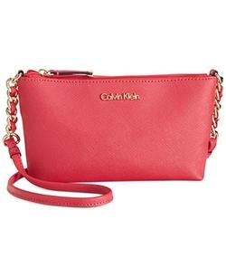 Calvin Klein  - Saffiano Crossbody Bag