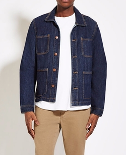 21 Men - Four-Pocket Denim Jacket