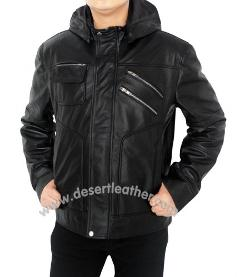Desert Leather - Chris Martin Coldplay Leather Jacket