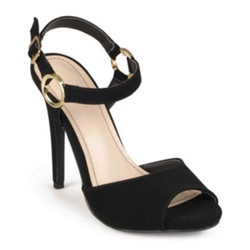 Journee Collection - Ankle-Strap High Heel Sandals