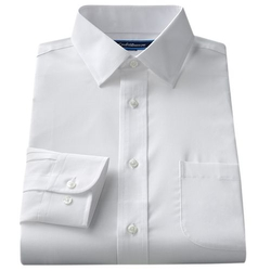 Croft & Barrow - Spread-Collar Dress Shirt