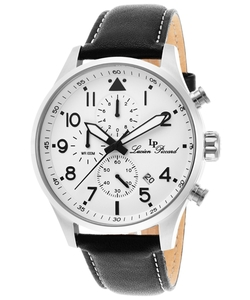 Lucien Piccard - Chronograph Genuine Leather Watch