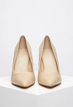 Forever 21 - Faux Leather Pointed Pumps
