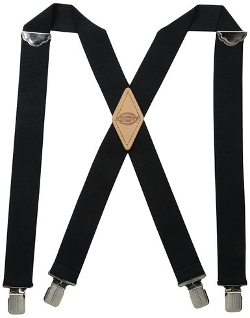 Dickies - Solid Straight Clip Suspender