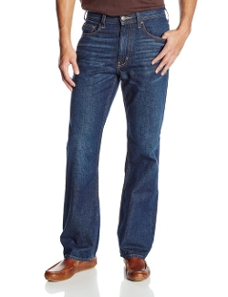 Haggar - Wash Straight Fit 5-Pocket Denim Jean
