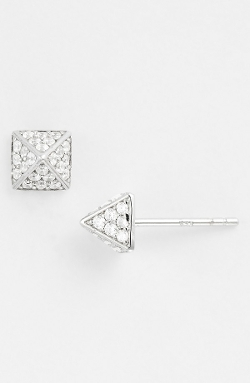 Sugar Bean Jewelry  - Boxed Pavé Stud Earrings