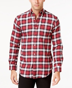 John Ashford - Long-Sleeve Flannel Shirt