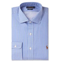 Polo Ralph Lauren - Blue Striped Cotton Shirt