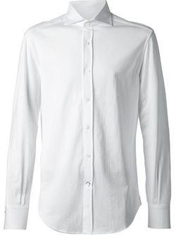 Brunello Cucinelli - Spread Collar Shirt